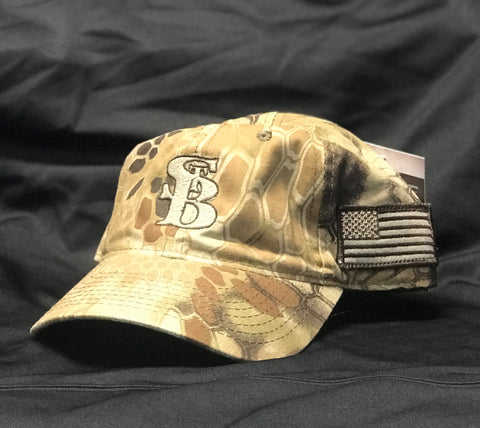 St. B Flag Cap (Kryptek Highlander)