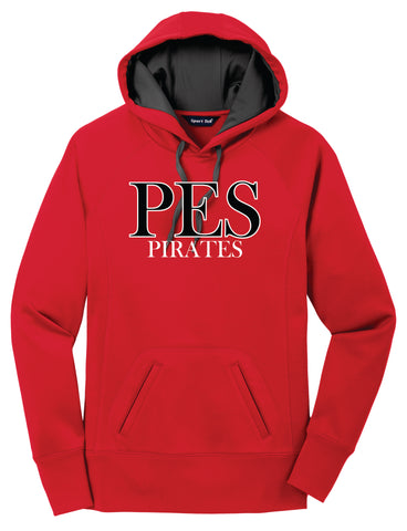 Pisgah Pirates Fleece Hooded Sweatshirt