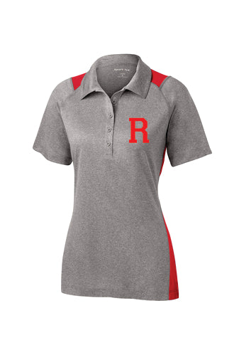 Sport-Tek® Ladies Heather Colorblock Contender™ Polo (Standard R)