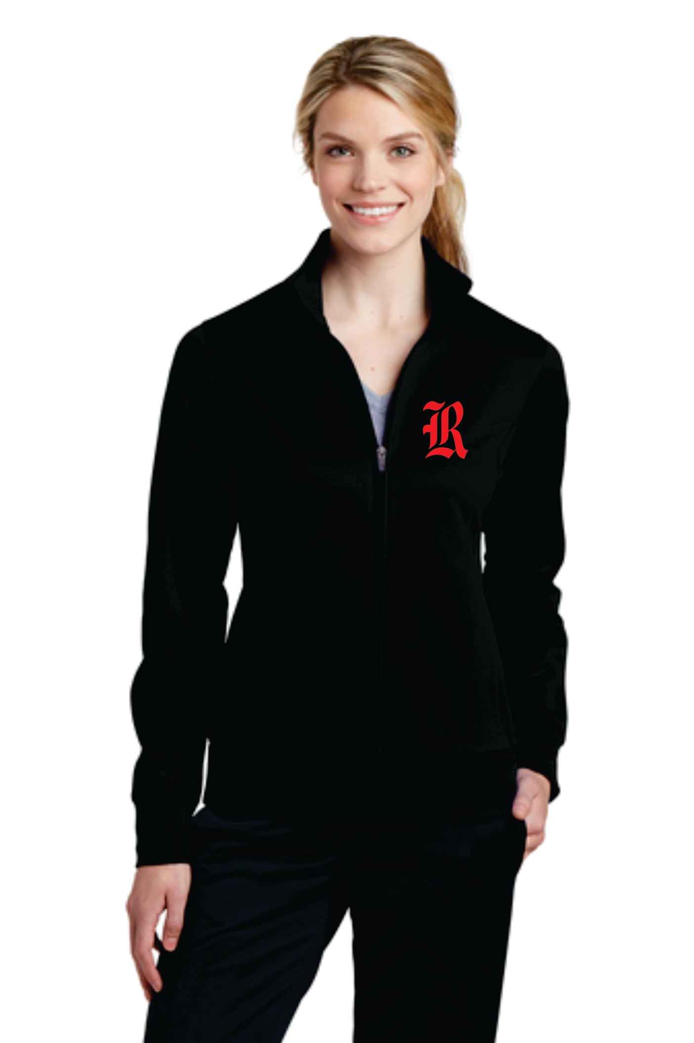 Rossview Hawks Ladies Fleece Jacket