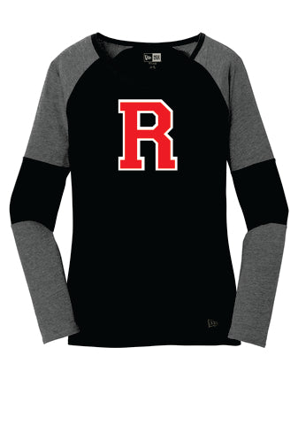 New Era® Ladies Tri-Blend Performance Baseball Tee (Standard R)