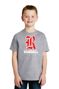 Hanes® - Youth 100% Cotton T-Shirt (Old English R)