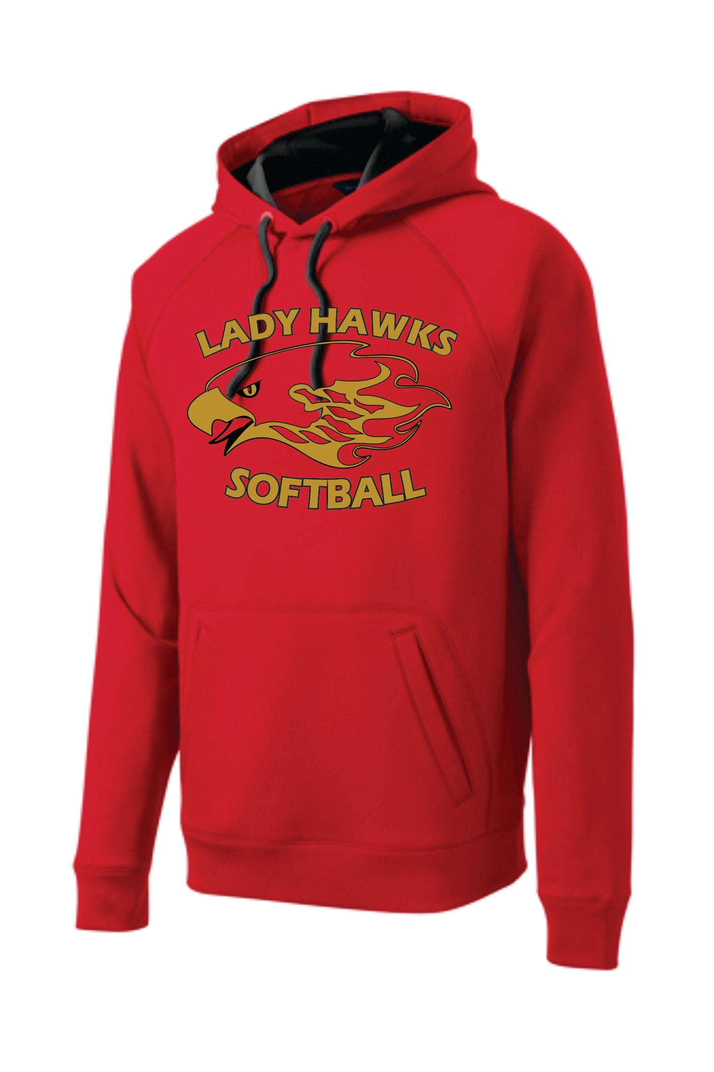 Rossview Hawks Softball Fleece Hoodie