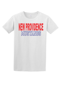 New Providence Mustangs Tee (Block)