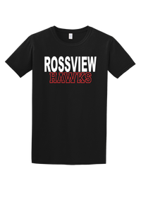 Rossview Hawks Tee (Block)