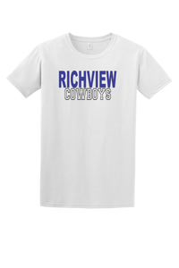 Richview Cowboys Tee (Block)