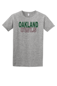 Oakland Owls Tee (Block)