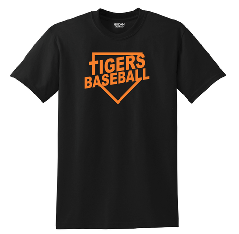 St. B PWB Tigers Baseball T-Shirt