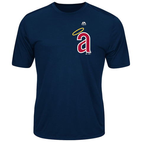 MAJESTIC® COOPERSTOWN EVOLUTION WICKING T-SHIRT - Angels