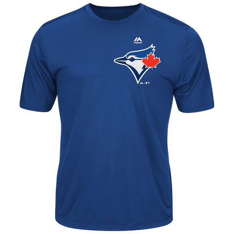 MAJESTIC® EVOLUTION WICKING T-SHIRT - Blue Jays