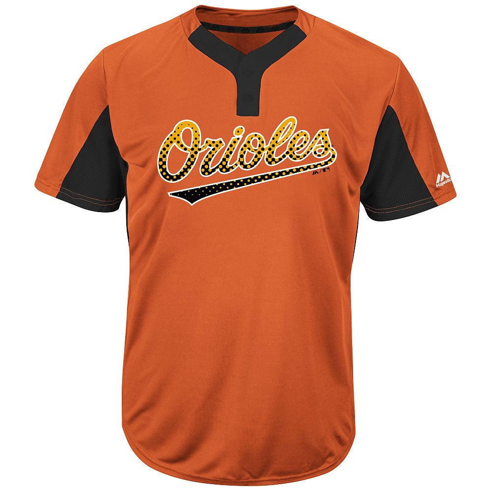 MAJESTIC® MLB® PREMIER TWO-BUTTON COLORBLOCKED JERSEY - Orioles