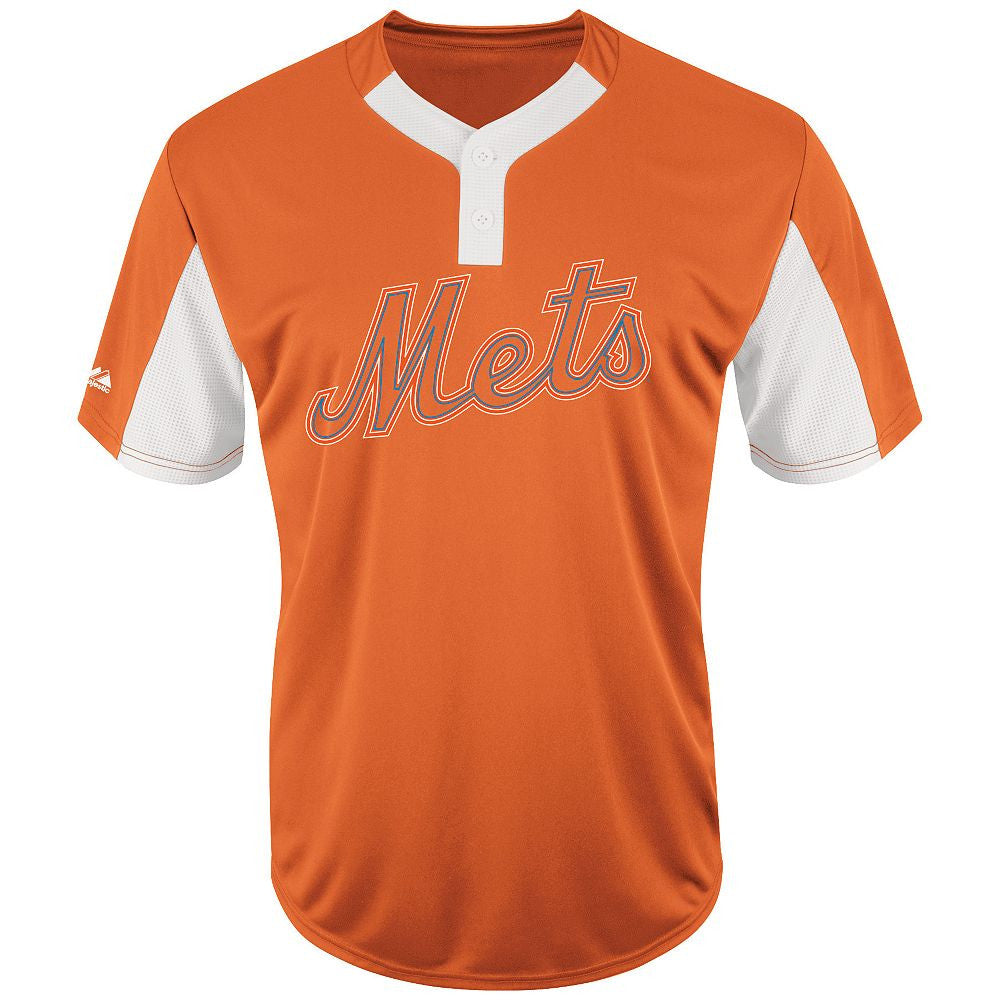 MAJESTIC® MLB PREMIER EAGLE TWO-BUTTON JERSEY - Mets