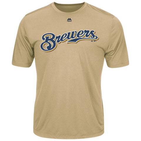 MAJESTIC® EVOLUTION WICKING T-SHIRT - Brewers