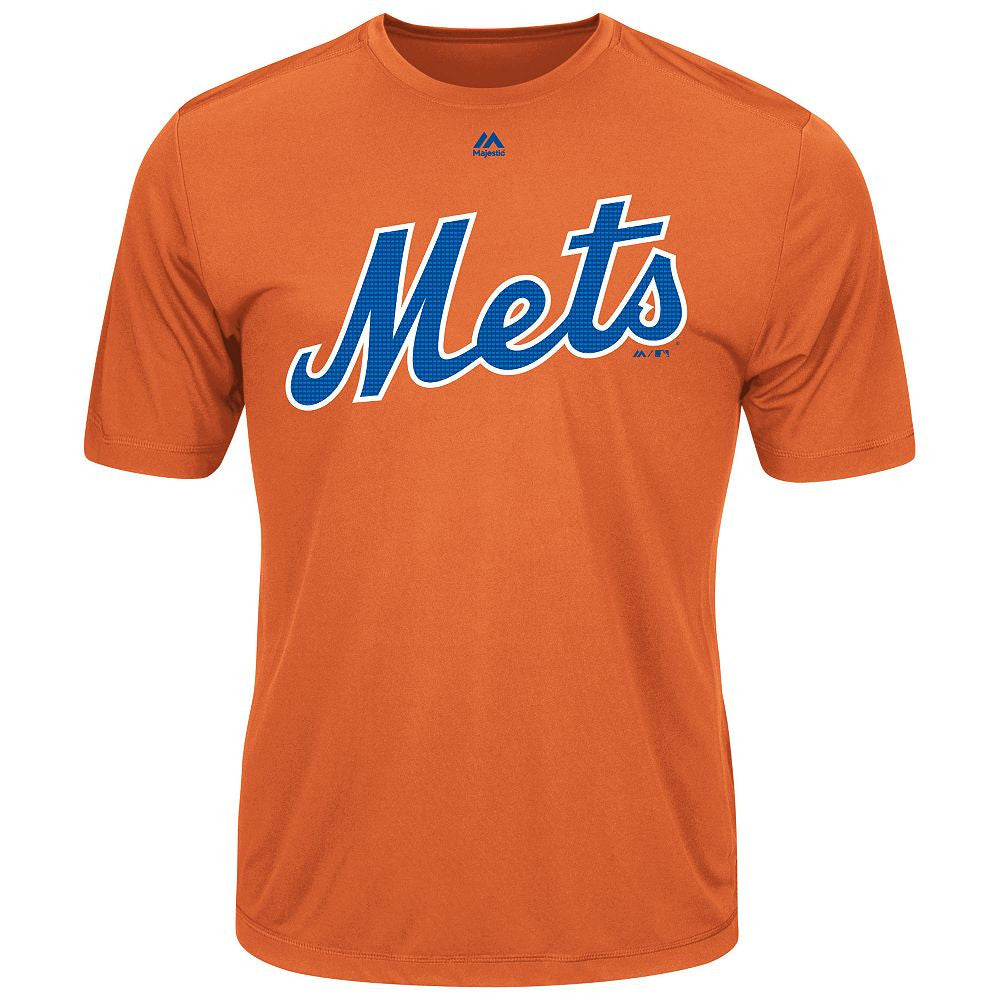 MAJESTIC® EVOLUTION WICKING T-SHIRT - Mets