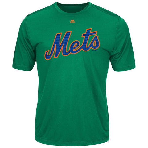 MAJESTIC® COOPERSTOWN EVOLUTION WICKING T-SHIRT - Mets