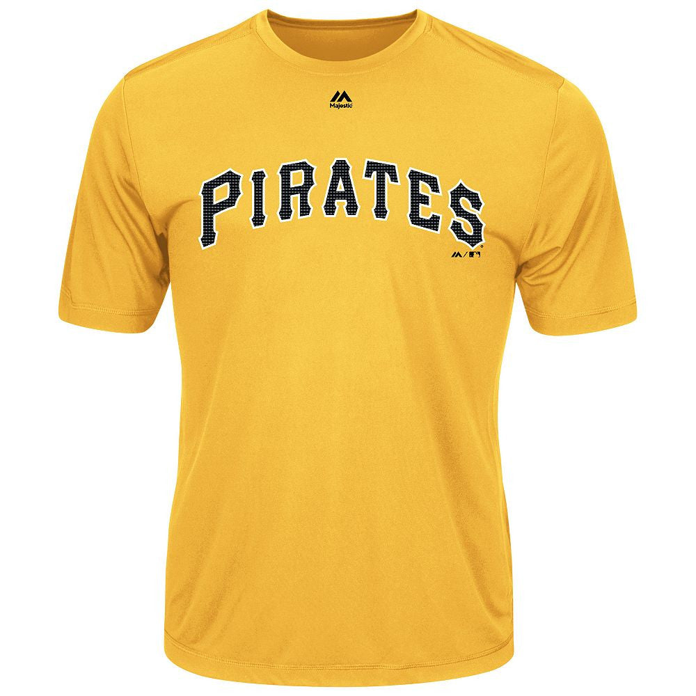 MAJESTIC® EVOLUTION WICKING T-SHIRT - Pirates