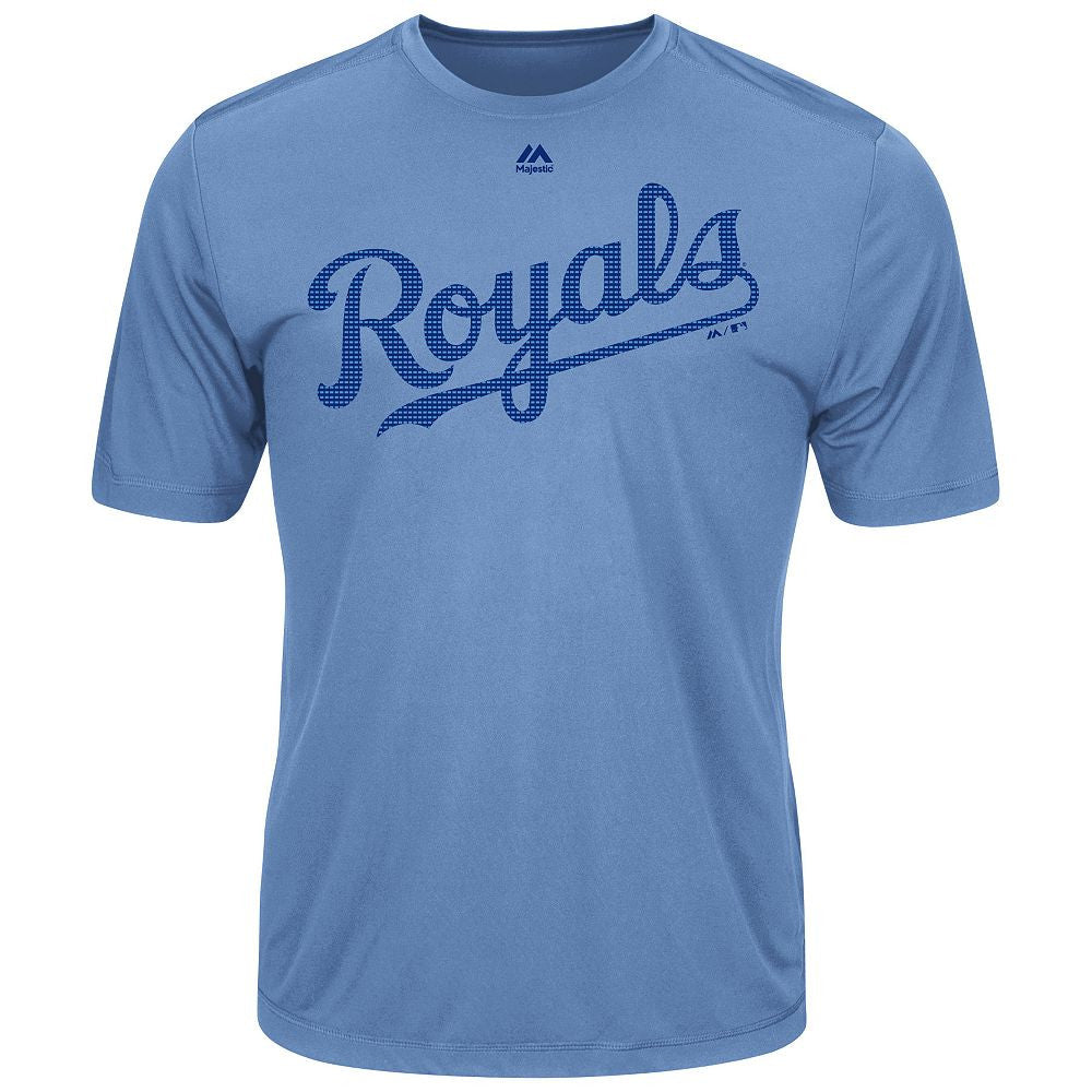 MAJESTIC® EVOLUTION WICKING T-SHIRT - Royals
