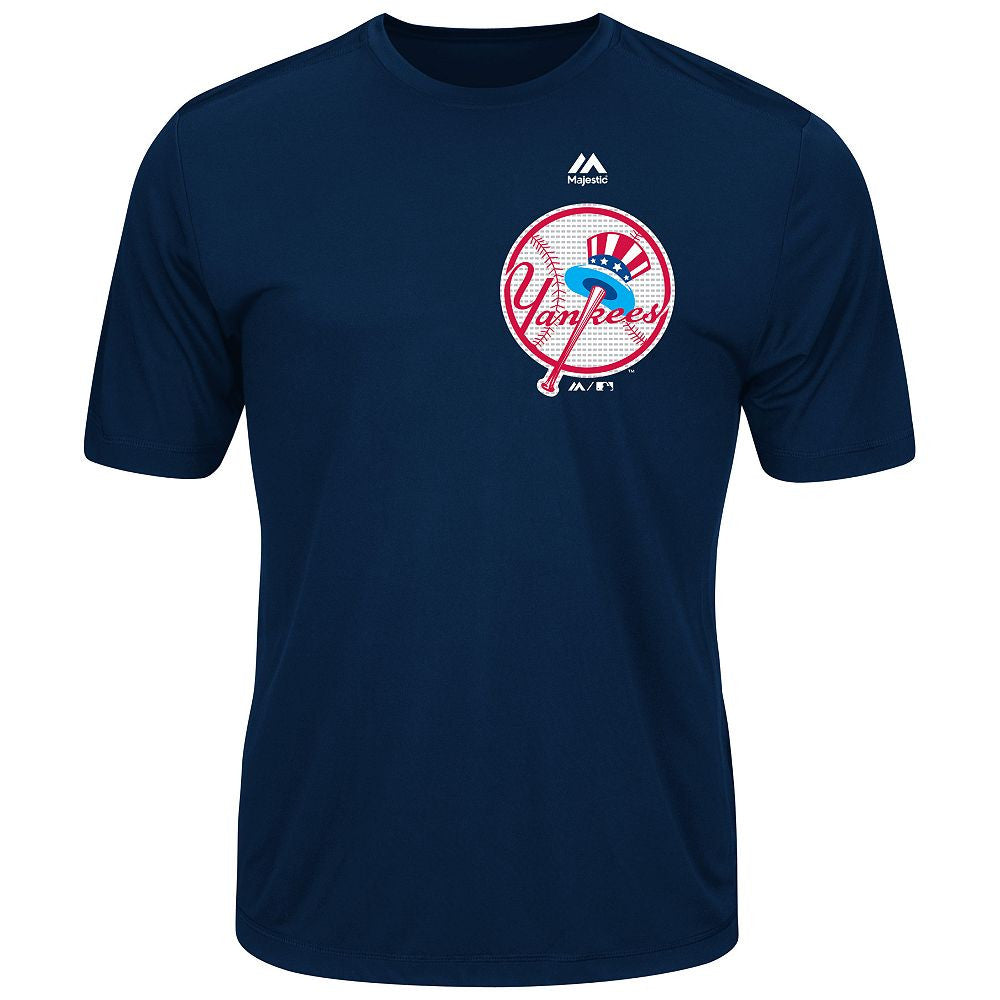 MAJESTIC® COOPERSTOWN EVOLUTION WICKING T-SHIRT - Yankees