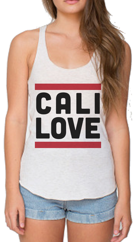 Cali over Love Racerback Tank