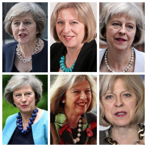 theresa may statement necklace