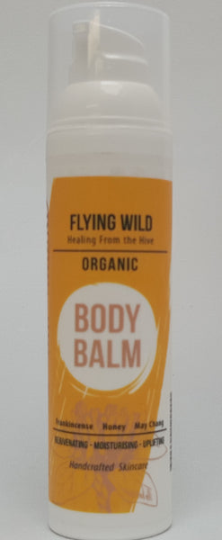 Organic Body Balm With Frankincense, Honey and May Chang