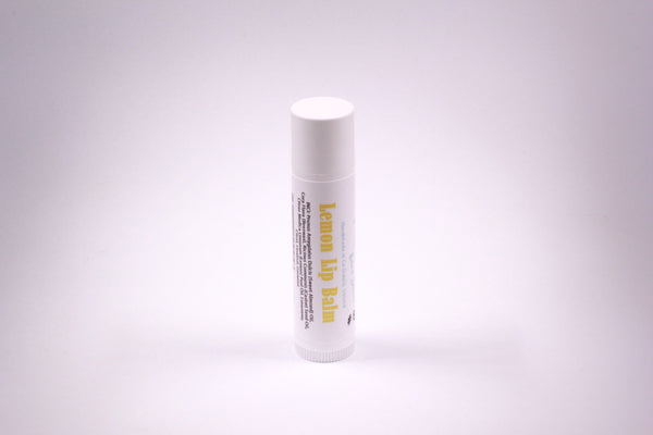 handmade irish skincare lemon lip balm eco-friendly
