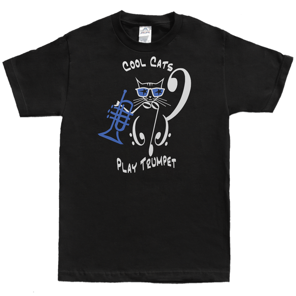Cool Cats Play Trumpet, Mens - TntMusicBox - 3