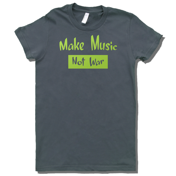 Make Music Not War, Womens - TntMusicBox - 5
