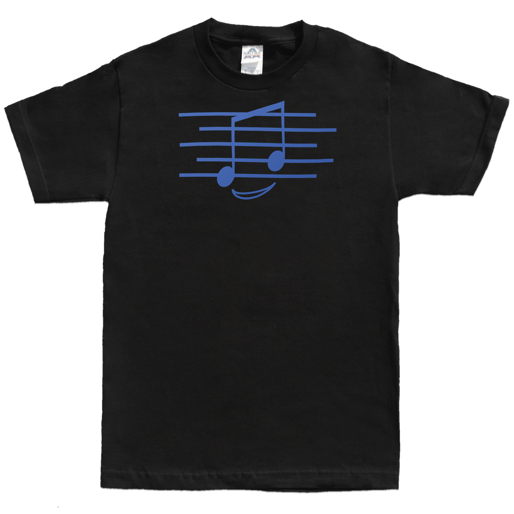Eighth Note Smiley, Mens - TntMusicBox - 2