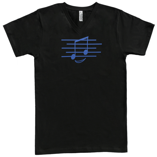 Eighth Note Smiley, Mens - TntMusicBox - 7