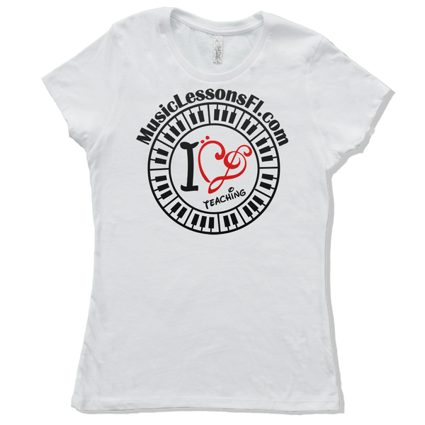 Add A Text Line To Your Tee! Womens - TntMusicBox - 6