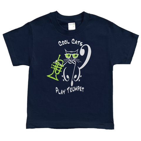 Cool Cats Play Trumpet, Kids - TntMusicBox - 1