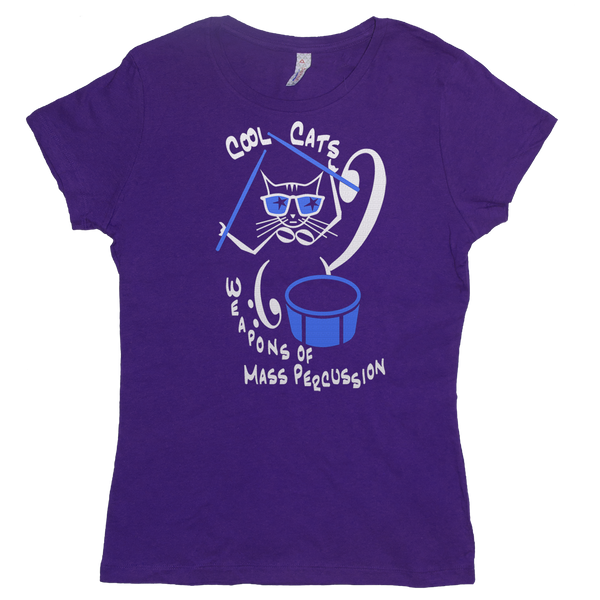 Cool Cats are Weapons of Mass Percussion Violin, Womens - TntMusicBox - 5