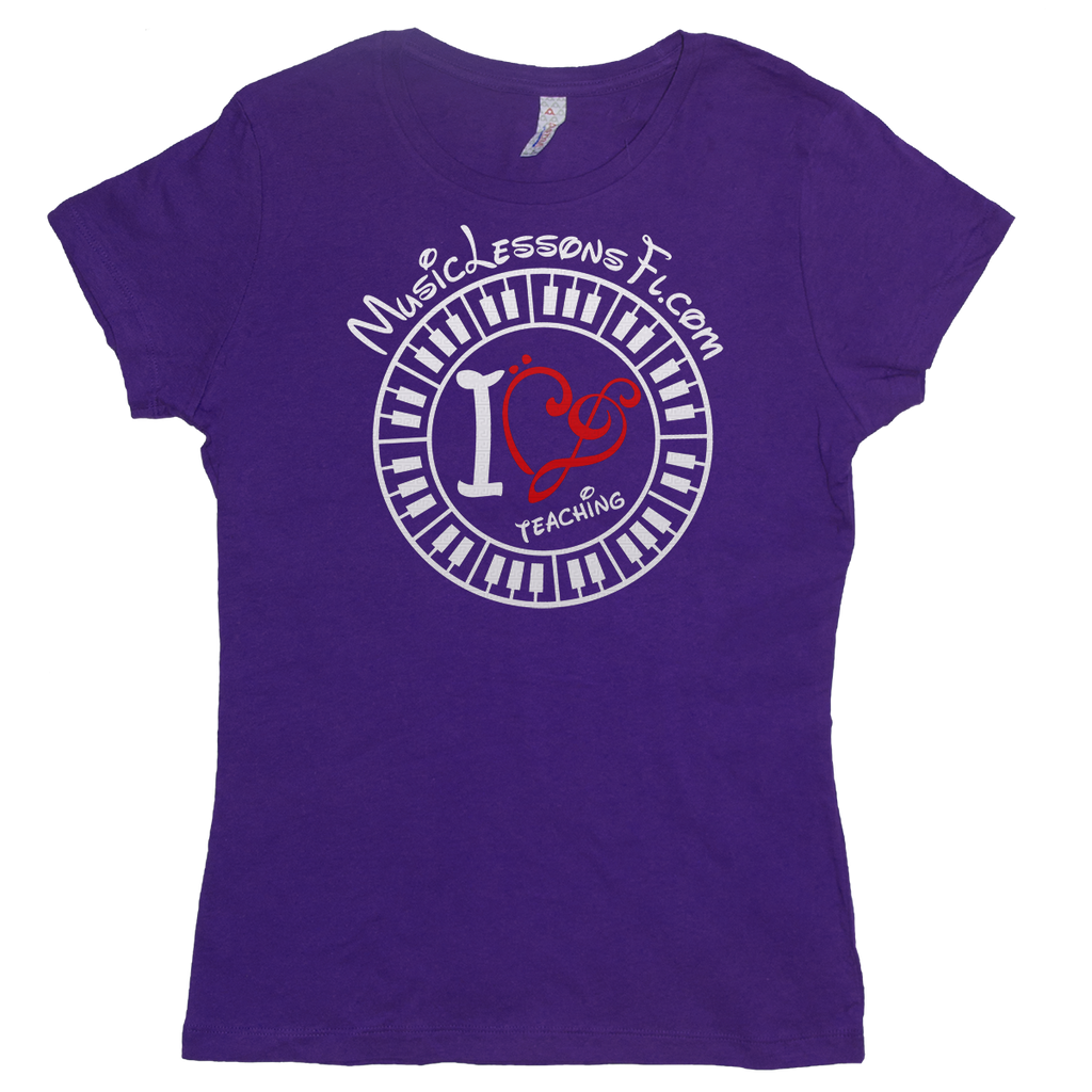 Add A Text Line To Your Tee! Womens - TntMusicBox - 1