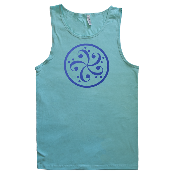 bass clef music t-shirt design mens tank top