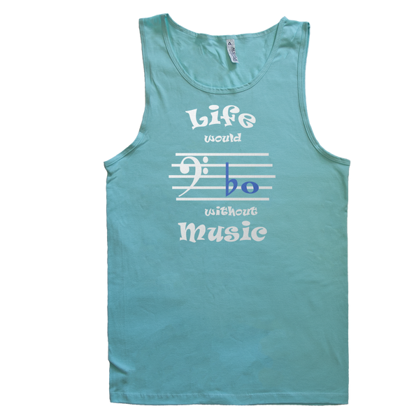 Life Would Bb Without Music, Bass Clef, Mens - TntMusicBox - 6