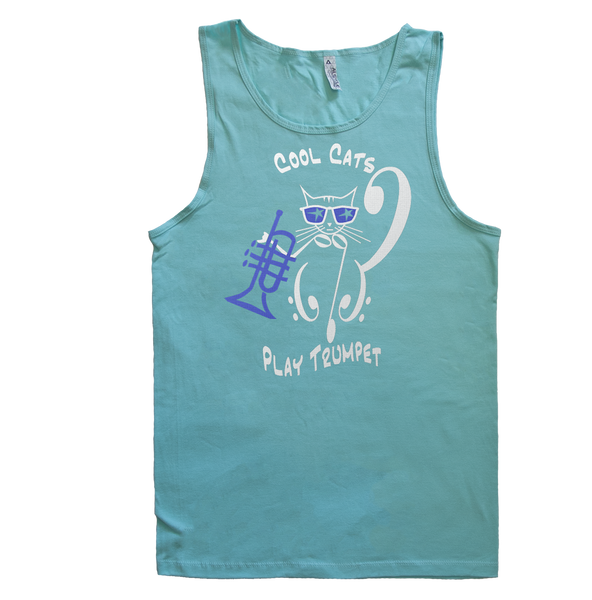Cool Cats Play Trumpet, Mens - TntMusicBox - 2