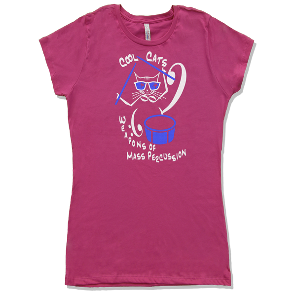 Cool Cats are Weapons of Mass Percussion Violin, Womens - TntMusicBox - 3