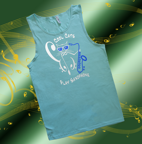 Cool Cats Play Saxophone, Mens
