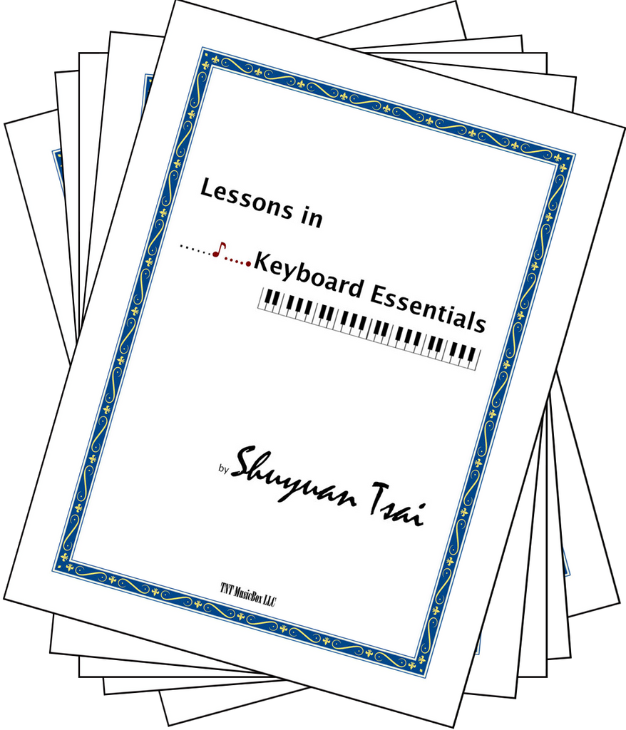 Lessons in Keyboard Essentials Educators 5 pack