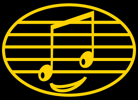 Eighth Note Smiley