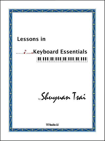 Lessons in Keyboard Essentials educators 5 pack - TntMusicBox