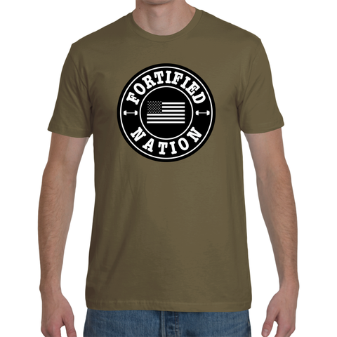 Men's Train, Eat, Sleep, Grow - Military Green
