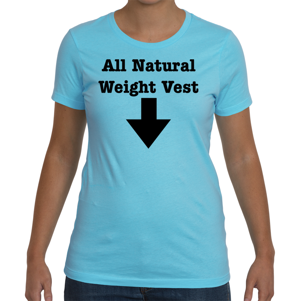 Womens Maternity All Natural Weight Vest - Cancun