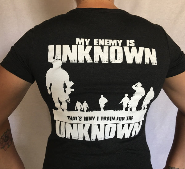 Train for the Unknown - Women's t-shirt