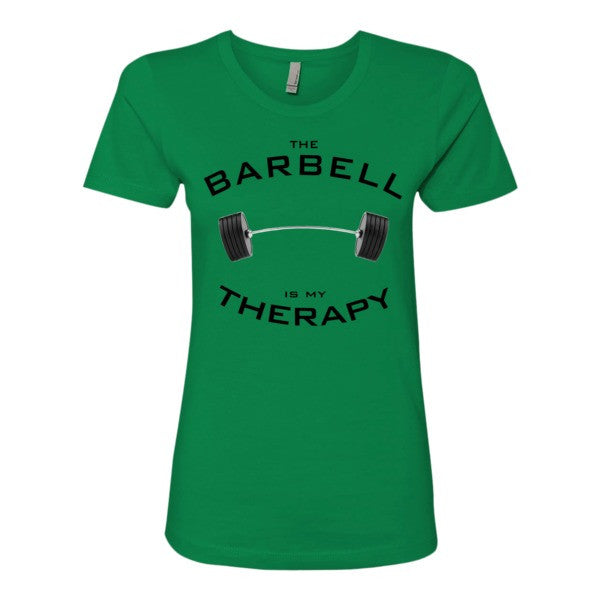 Barbell Therapy - Women's t-shirt
