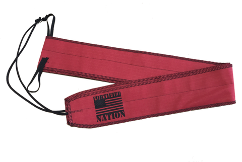 FN Wrist Wraps - Red
