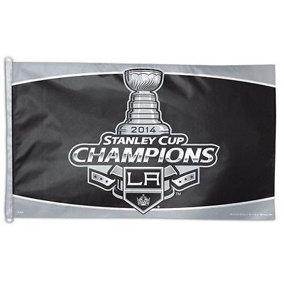 Los Angeles Kings 2014 Stanley Cup Champions 3'x5' Flag