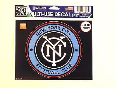 "New York City FC 5""x6"" Decal"