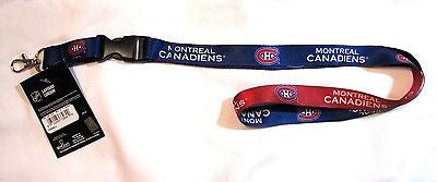 "Montreal Canadiens 22"" Lanyard with Detachable Buckle"